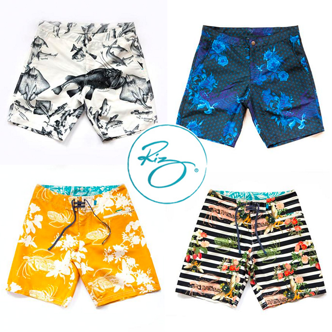 Riz Boardshorts featured on The Giving Back Society