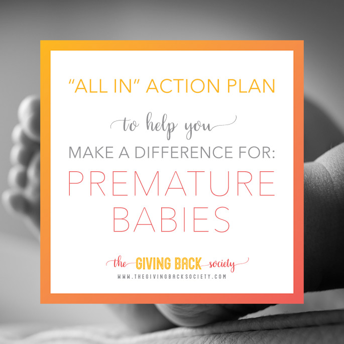 The Giving Back Society is Making a Difference for Premature Babies