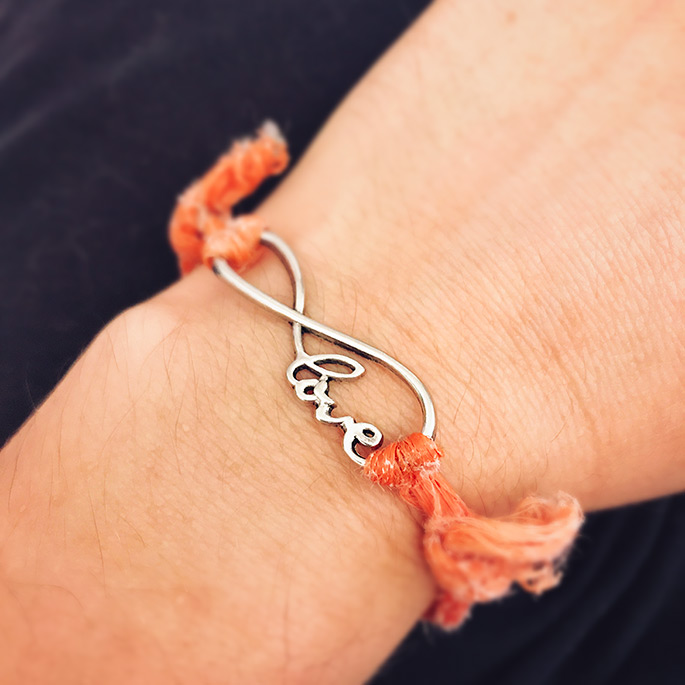 Bracelet supporting Happily Ever Esther Farm Sanctuary | The Giving Back Society