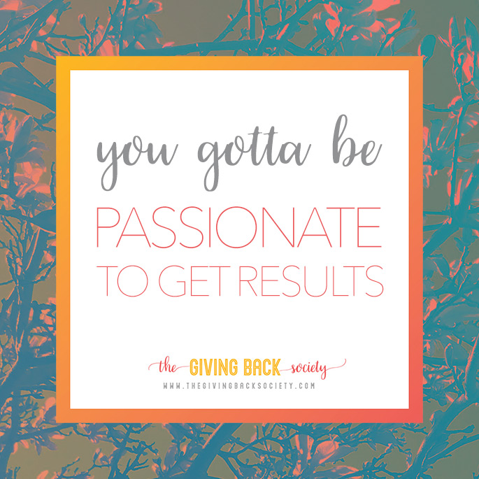 Be Passionate About Volunteering | The Giving Back Society