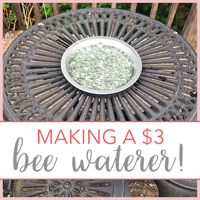 Bee Waterer for $3 by The Giving Back Society