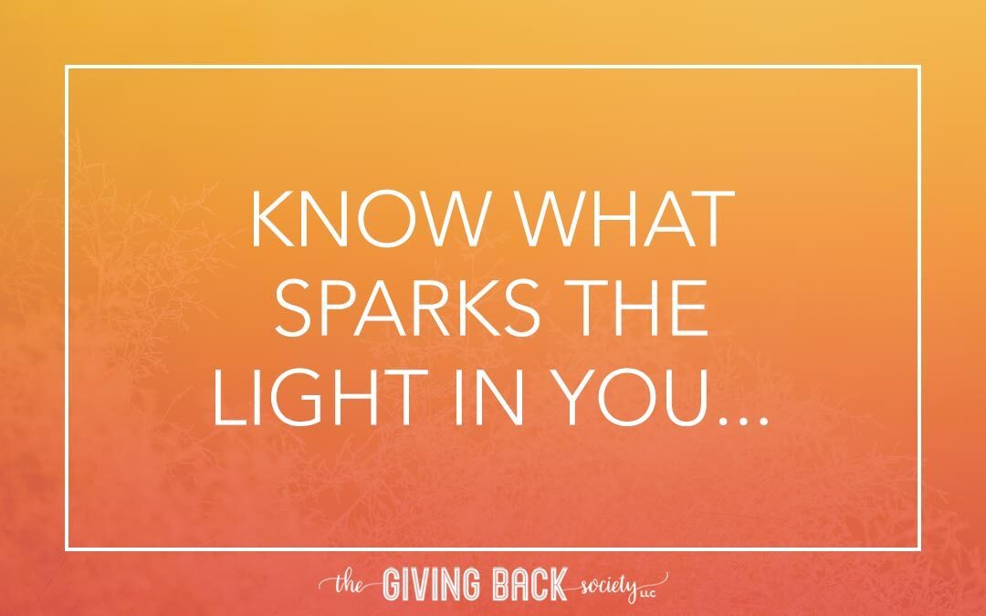 KNOW WHAT SPARKS…