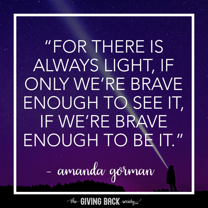 For there is always light...